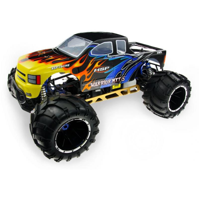 HSP 1/5 HSP 94050 Skeleton RTR Gas Baja Truck 30cc