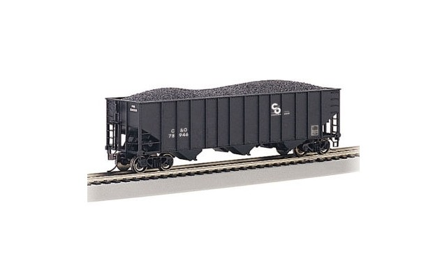 Bachmann HO 100t 3-Bay Hopper Chesapeake