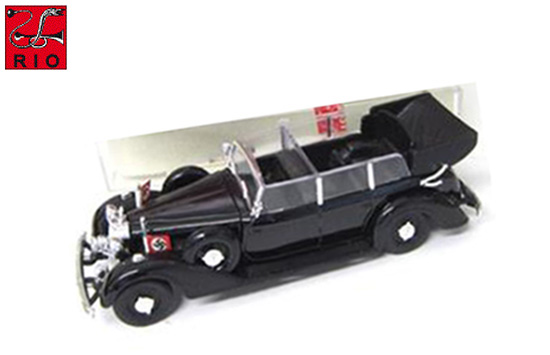RIO 1/43 1942 Mercedes-Benz 770 K Hitlers Personal Car Black