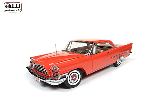 Autoworld 1/18 1957 Chrysler 300C Hard Top Orange