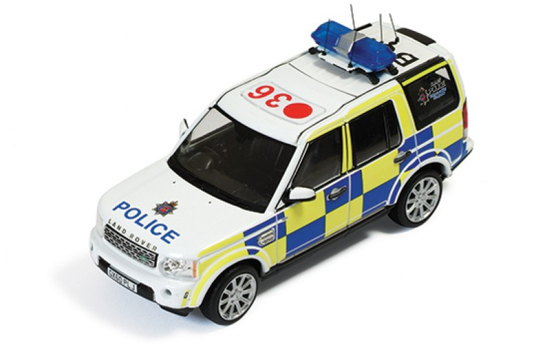 IXO 1/43 2010 Land Rover Discovery 4 Surrey Uk Police