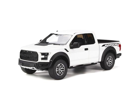 GT Spirit 1/18 Ford F150 Raptor 2015 Oxford White