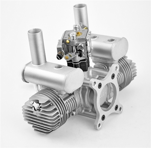 RCGF 30cc Twin Gas Engine Walbro Carb