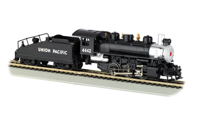 Bachmann HO 0-6-0 USRA & Slope Tender with Smoke - Union Pacific