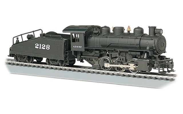 Bachmann HO 0-6-0 USRA & Slope Tender with Smoke - Santa Fe