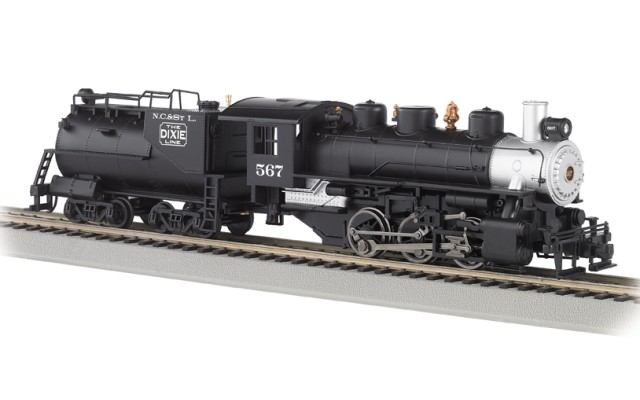 Bachmann HO 0-6-0 USRA with vd Bilt Tender with Smoke - Nash, Ch