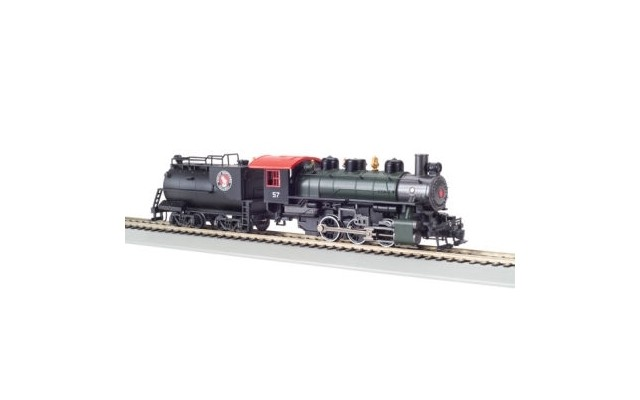 Bachmann HO 0-6-0 USRA with Vanderbilt Tender Great Northern