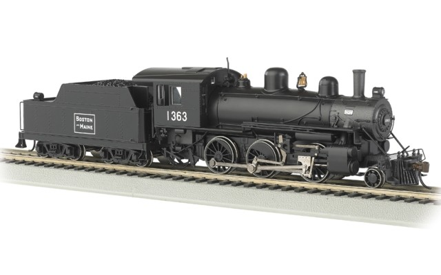 Bachmann HO 2-6-0 Alco - Boston & Maine (DCC Ready)