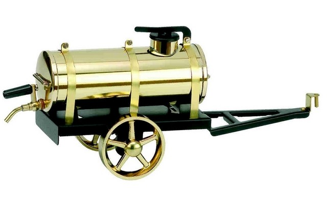 Wilesco A386 Water Cart Black and Brass