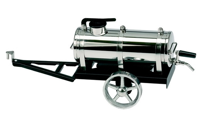 Wilesco A388 Water Cart Black and Nickel