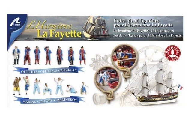 Artesania Latina - Die-cast Figurines for Hermione Lafayette (14