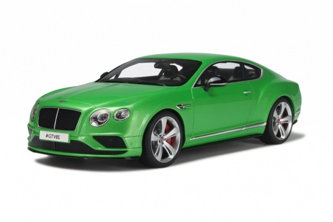 GT Spirit 1/18 Bentley Continental GT V8 Coupe Green
