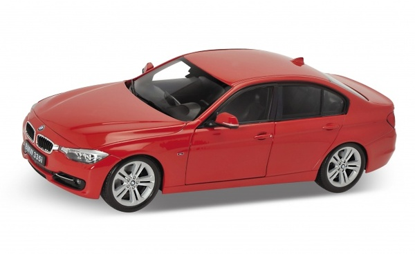 Welly 1/18 BMW 335I Red 2010