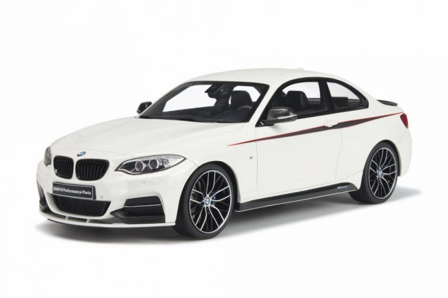 GT Spirit 1/18 BMW M 235I M Performance 2014 White