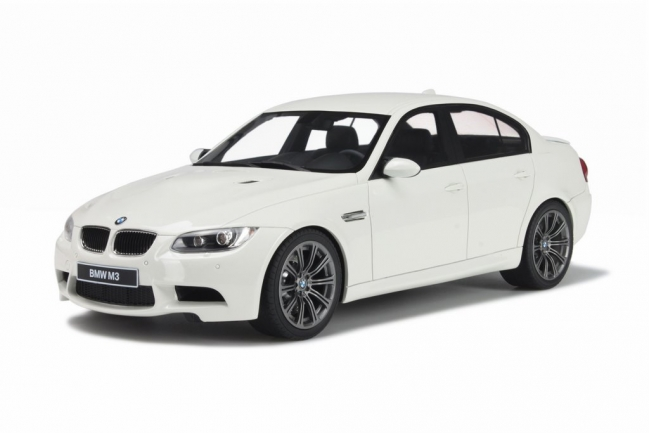 GT Spirit 1/18 BMW M3 White