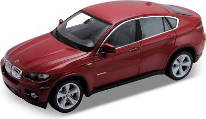 Welly 1/18 BMW X6 Red 2009