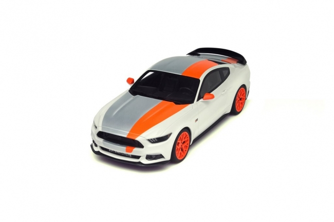 GT Spirit 1/18 Ford Mustang by Bojix Design White