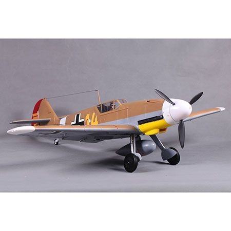 FMS BF109 PNP 1400mm Brown EPO