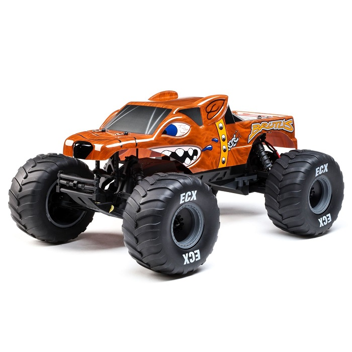 Electrixrc 1/10 Brutus 2wd Monster Truck RTR