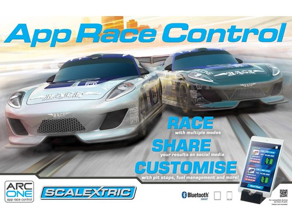 Scalextric ARC One System App Race Control Slot Car Set