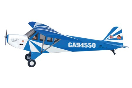 World Models CLIPPED WING CUB 1/3 Scale (Blue) 80cc ARTF