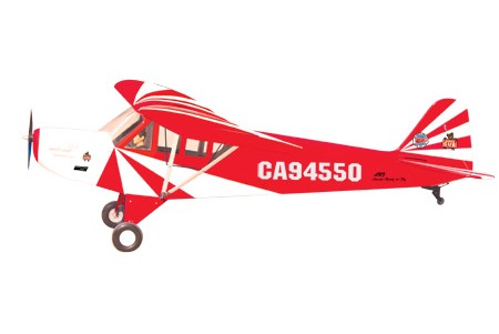 World Models CLIPPED WING CUB 1/3 Scale (Red) 80cc ARTF