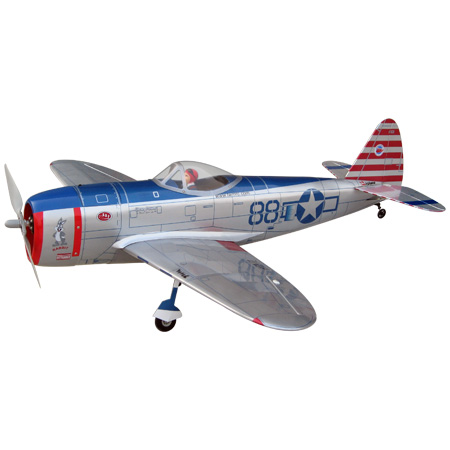 World Models  P-47D THUNDERBOLT EP (Without Motor) ARTF