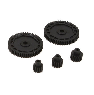 1/18 4WD All Pinion & Spur Gear Set