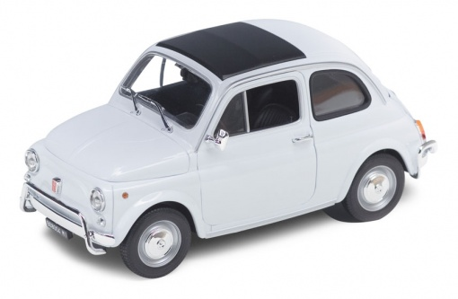 Welly 1/18 FIAT 500 1968 White