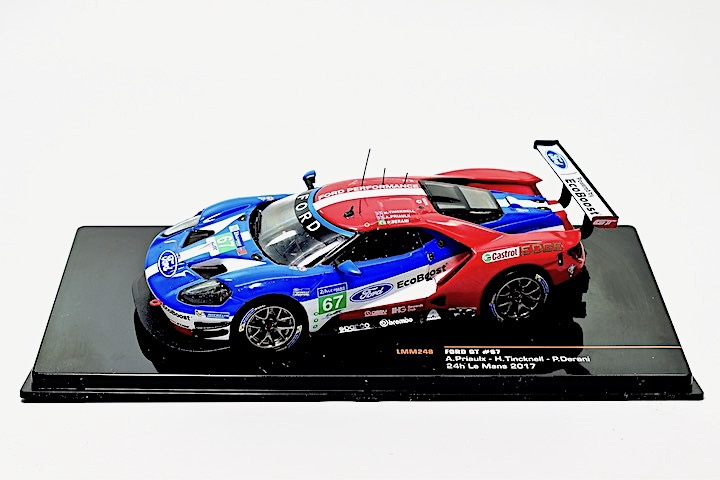 IXO 1/43 Ford GT no 67 HR Le Mans 2017