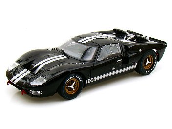 Shelby 1/18 Ford GT40 MKII 1966 Blk- White