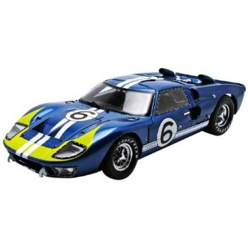 Shelby 1/18 Ford GT40 MKII no 8 Blue-Yellow