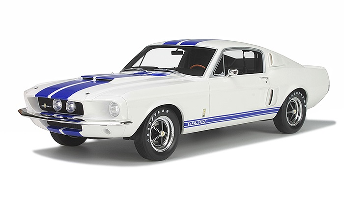 GT Spirit 1/12 Ford Mustang Shelby GT500 White