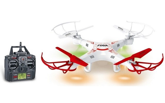 JXD/Fodo D15 2.4 GHz 4-Channel Quadcopter w/6 Axis Gyro - Withou