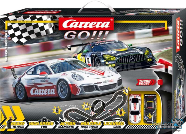Carrera GO!!! Super Speeders Set 6.2M