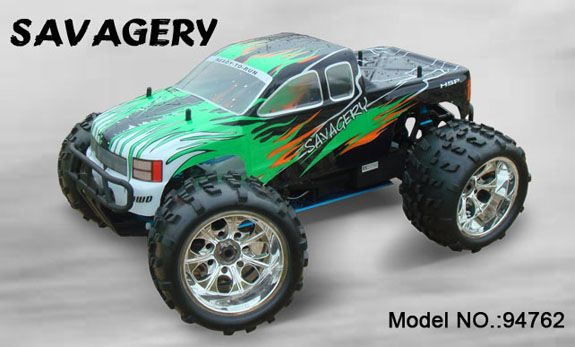 HSP 1/8 Monster Truck Savagery Nitro