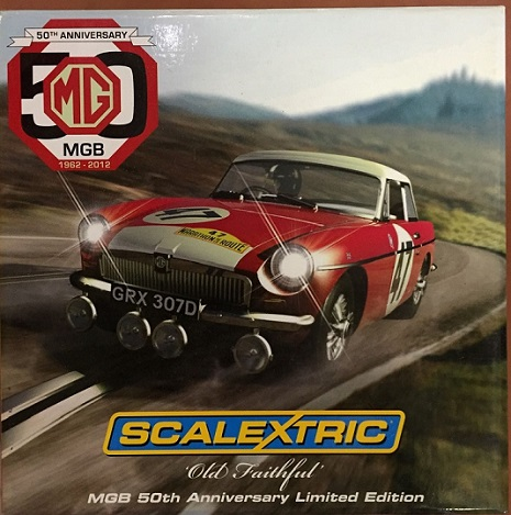 Scalextric MGB 50th Anniversary Limited Edt