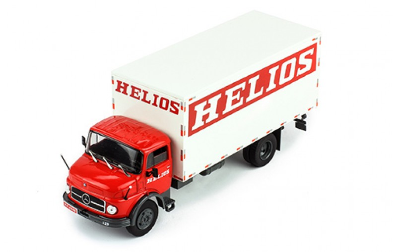 IXO 1/43 Mercedes-Benz L 1113 Helious White/Red