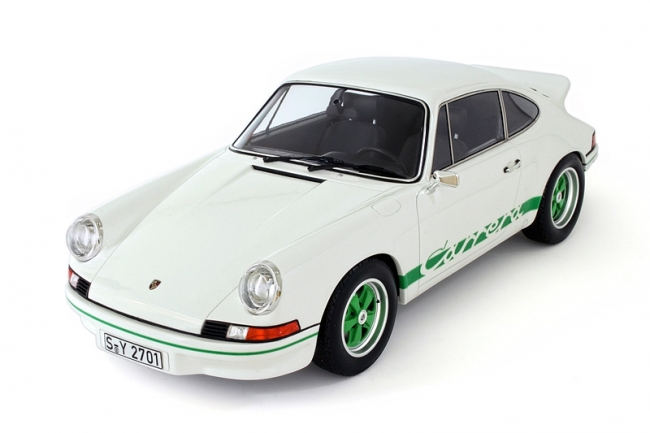 GT Spirit 1/12 Porsche 911 964 Carrera RS 2.7 White-Green