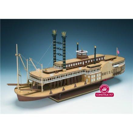 Constructo 1/48 Robert E Lee (Paddle Steamer)