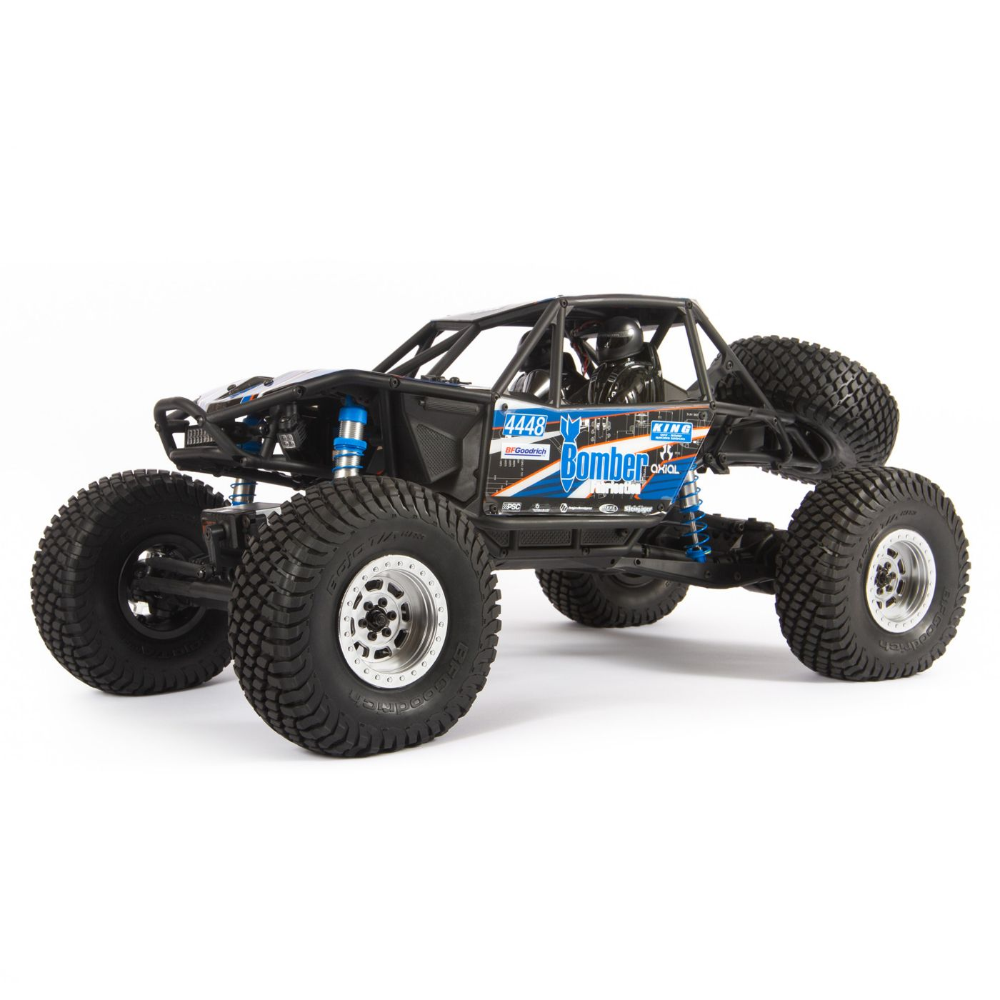 Axial 1/10 RR10 Bomber 4wd Blue RTR