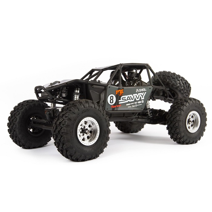 Axial 1/10 RR10 Bomber 4wd Grey RTR