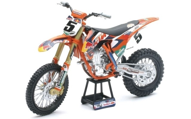 New-Ray 1/10 Red Bull KTM 450 SX-F 2014 - Ryan Dungey #5