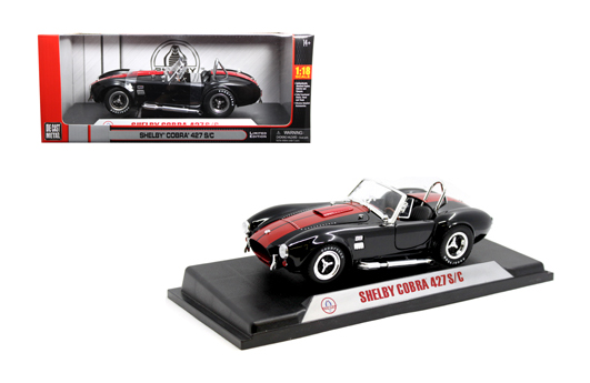 Shelby 1/18 Cobra 427 1965 Blk-Red