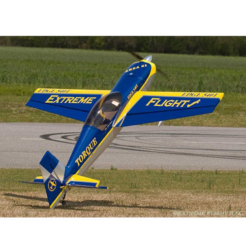 Extreme Flight RC Edge 540 88inch Blue Yellow