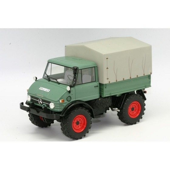 Premium Classixxs 1/18 Unimog 406 Pick Up w-Canvas
