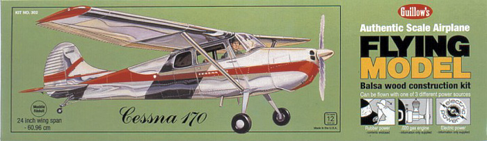 Guillow's 302  Cessna 170