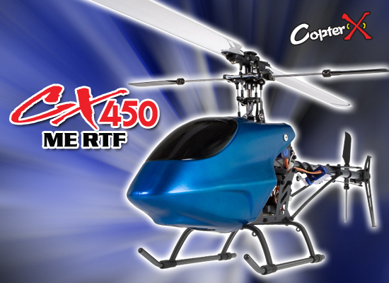 CopterX CX 450ME 2.4GHz RTF Helicopter
