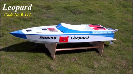 The World Models Leopard Gas Speed Boat