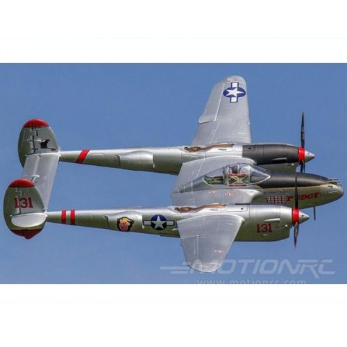 Freewing P-38 Silver PNP